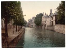 Photochrome 6408 P.Z., Bruges, Bordeaux, France, 1890-1900, Infos Zu Photochrom S. Unten - Ancianas (antes De 1900)