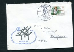 FDC DDR Minr: 3114 Jahr: 1987 Ersttagsstempel - Storia Postale