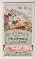 CHROMOS  - CHOCOLAT SÉCHAUD - Montreux - Schokolade