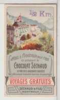 CHROMOS  - CHOCOLAT SÉCHAUD - Montreux - Cioccolato