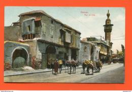 ET/ 56  SYRIE DAMAS   RUE EN VILLE // écrite 1921 - Syrie