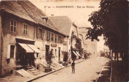 68-DANNEMARIE- RUE DU MARCHE - Dannemarie