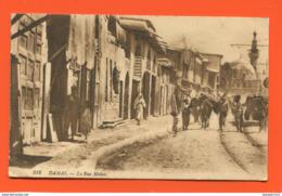 ET/ 56  SYRIE DAMAS LA RUE MIDAN / écrite 1921 - Syrie