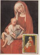 Carte-Maximum TCHAD  N°Yvert PA 167 / Van Der Weyden / Vierge - Tschad (1960-...)