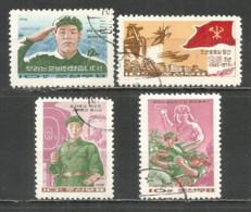 Korea 1970 Used Stamps - Corée Du Nord