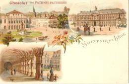 SOUVENIR De LIÉGE  -  ( Chocolat Des PATRONS PATISSIERS ) - Liege