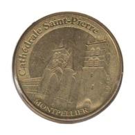 34007 - MEDAILLE TOURISTIQUE MONNAIE DE PARIS 34 - Cathédrâle Saint Pierre - 2015 - Monnaie De Paris