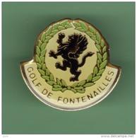 GOLF DE FONTENAILLES *** 1050 - Golf
