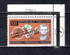 TOGO PA N° 43  NEUF SANS CHARNIERE COTE  2.50€   PRESIDENT KENNEDY - Togo (1960-...)