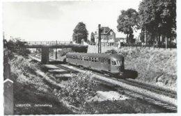 IJmuiden Julianabrug Electric Train Trein Spoorweg Railway Eisenbahn Tram Naar/to Haarlem Tramway 1960's - IJmuiden