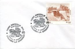 47320 Italia, Fdc 2007, Bisceglie,  Dolmen,  Prehistory - Prehistoria