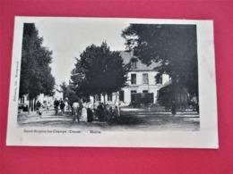 SAINT SULPICE LES CHAMPS -  Mairie - Belle Animation Avec De Nombreux Villageois - Voyagée En 1905 - Voir Les 2 Scans - La Souterraine