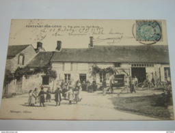 C.P.A.- Fontenay Sur Conie (28) - Vue Prise Rue De L'Arche - 1910 - SUP (H60) - France