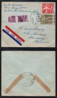 GUAM - AGANA - NAVAL AIR STATION - USA / 1962 LETTRE AVION POUR LA FRANCE VIA VIENN AUTRICHE (ref LE3639) - Guam