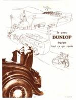 """PUB PNEUS """" DUNLOP """" 1933 ( 4 ) - Other"""