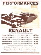 "PUB AUTOMOBILES  "" RENAULT "" 1933 ( 4 ) - Other"