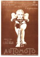 """PUB BICYCLETTE """" AUTOMOTO """" 1933 ( 1 ) - Other"""