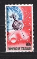 TOGO PA N° 68  NEUF SANS CHARNIERE COTE  2.50€  ESPACE SATELLITE - Togo (1960-...)