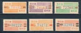 DDR Dienstmarken B V - X ** Mi. 30,- - DDR