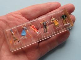 Lot Of Original PREISER Miniaturfiguren ( Please See Photo For Detail ) Uncleaned * RARE ( Numbers ? ) !! - Flugzeuge & Hubschrauber