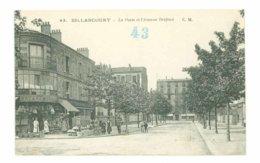 92  - BILLANCOURT - Poste Et Avenue Desfeux (Au Dos : Photo E. Baguet - Paris) - Boulogne Billancourt