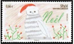 "SPM YT 1122 "" Noël "" 2014 Neuf** - St.Pierre & Miquelon"