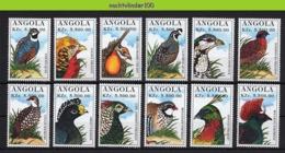 Nff045 FAUNA VOGELS FAZANT PATRIJS PARTRIDGE PHEASANT QUAIL BIRDS VÖGEL AVES OISEAUX 1996 PF/MNH - Vögel
