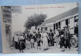CPA AMBLETEUSE - RARE PLAN DU TRAIN RENARD. ARRIVEE DE WIMEREUX. - Frankrijk