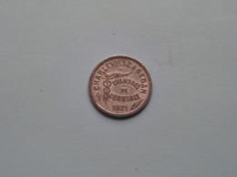 CHARLEVILLE - SEDAN Chambres De Commerce 1921 - 10 Ct ( Uncleaned Coin / For Grade, Please / VOIR Photo ) ! - Monétaires / De Nécessité