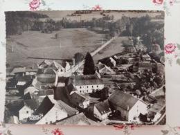 Chassey Les Montbozon Vue Panoramique Aérienne Carte Dentelée Haute Saône Franche Comté - France