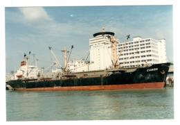 Cargo Ship - CASON - Build 1969 - Exploded 1987 - Real Photo - Commerce