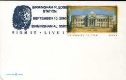 47326 U.s.a. Special Postmark 2000 Birmingham, Pledge Station, Fingerprint,Fingerabdruck - Wissenschaften