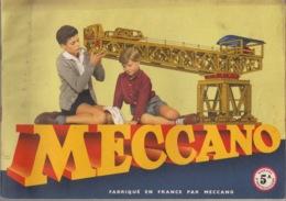 Manuel D'Instructions MECCANO N° 5 A - Années 1950/1960 - Meccano