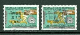 Hydro électricité. Haïti; Timbres Scott Stamps # B-43 + B-44; Usagés / Used. (8140) - Haiti