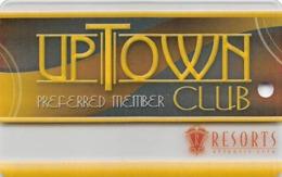 Resorts Casino - Atlantic City NJ - BLANK Slot Card - Casino Cards
