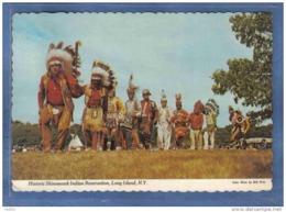Carte Postale Etats-Unis  Shinnecock Indian Reservation  Long Island Indiens  Danse Pow-Wow Trés Beau Plan - Long Island