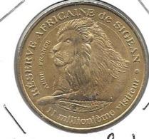 Jeton Touristique 11 Sigean Lion De Profil 2010 - Monnaie De Paris