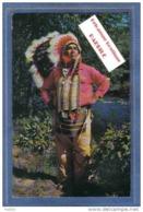 Carte Postale Etats-Unis  Jessie J. Lossie  Chef Indien Cherokee  Trés Beau Plan - Etats-Unis