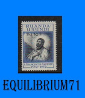 176** - 4e Centenaire De La Mort De St François Xavier - RUANDA URUNDI - 1948-61: Ungebraucht
