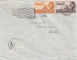 EGYPT FP-Firmen-Brief 1950, 2 Fach Frankiert - Ägypten