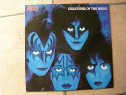 "33 Tours 30 Cm -  KISS   - CASABLANCA 6302219  "" CREATURES OF THE NIGHT "" + 8 - Vinyles"