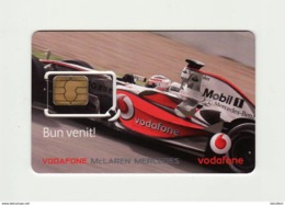 ROMANIA Vodafone McLaren Mercedes GSM SIM MINT - Rumania