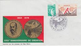 Enveloppe   FRANCE    Institution  Des  Invalides  De  La  LEGION  ETRANGERE     AUBAGNE   1979 - Militaria