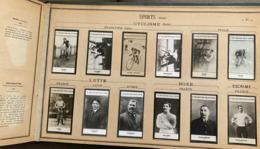 ↂ ALBUM FELIX POTIN COMPLET 510 CÉLÉBRITÉS N°2 PHOTOS 1907 ROI REINE MILITAIRE SAVANT PEINTRE SPORT CYCLISME BOXE PILOTE - Beroemde Personen