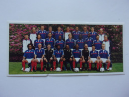 PANINI FOOT 2001 N°423, 424, 425 équipe De France - Edition Française