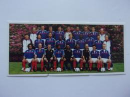 PANINI FOOT 2001 N°423, 424, 425 équipe De France - Panini