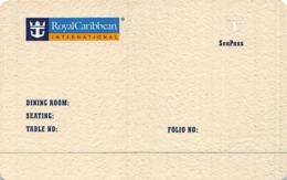Royal Caribbean Cruises - Blank SeaPass Card With PN 60A083-S - Hotel Keycards
