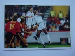 PANINI FOOT 2001 N°447, 448 France Espagne Viera Dugarry - Panini