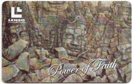 Thailand - LENSO (Chip) - Power Of Faith II - 500฿, Used - Thailand