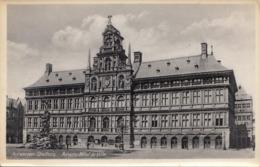 ANTWERPEN STADHUIS ANVERS HOTEL DE VILLE Um 1930, Frankiert Mit 2x5 Gro Ö + 2 Sonderstempel 1953 - Antwerpen
